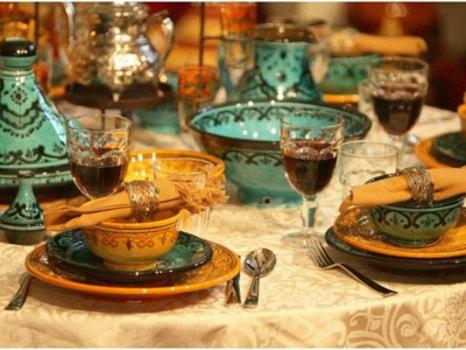 moroccan table setting – Loris Decoration